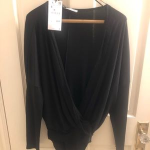 Black Zara Bodysuit